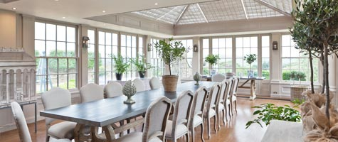 Using your Conservatory Menu Image