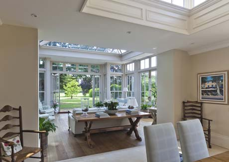 Conservatory Dining Room In Nottinghamshire.