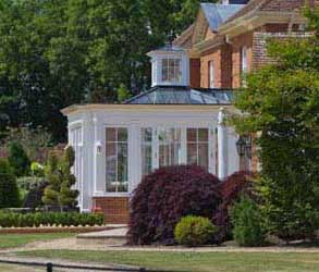 Conservatory With Small Roof Lantern In Hampshire.
