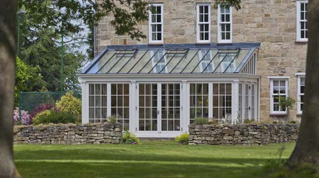 Traditional Lean-To Conservatory In Lincolnshire