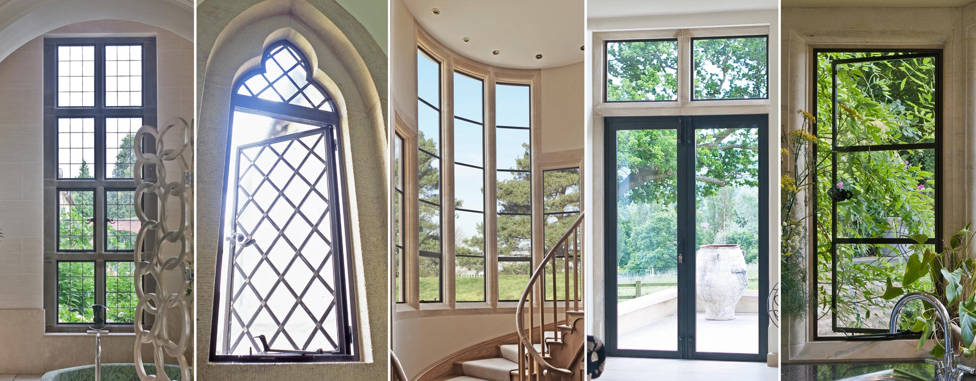 Architectural Bronze Casements Metal Windows