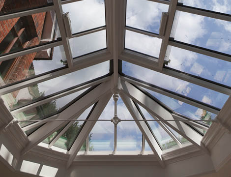 Bay Style Conservatory Roof.