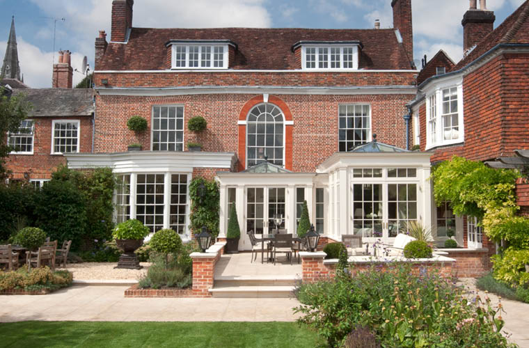 This Orangery Was Designed Using Architectural Details From The House