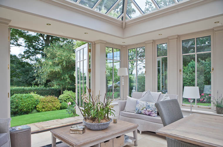Sitting In The Orangery Provides Wonderful Views Of The Gardens