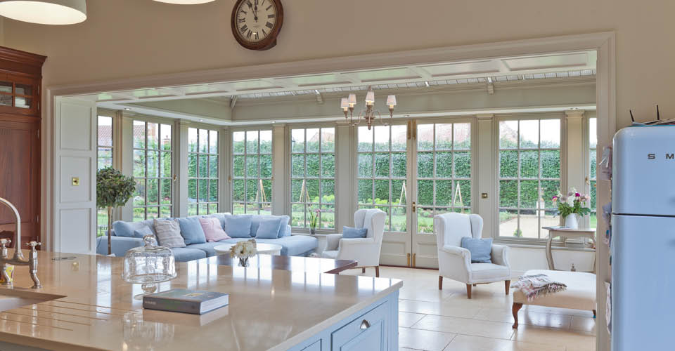 Orangery Provides The Finishing Touch To A Completely