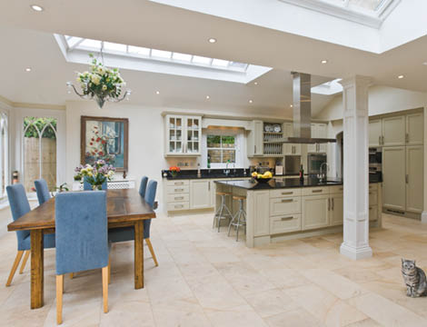 Kitchen Dining Conservatory North London