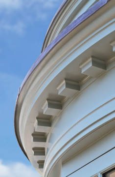 Curved Dentil Moulding