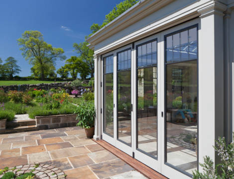 Metal Windows Folding Doors