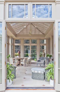 Elegant Orangery Internal