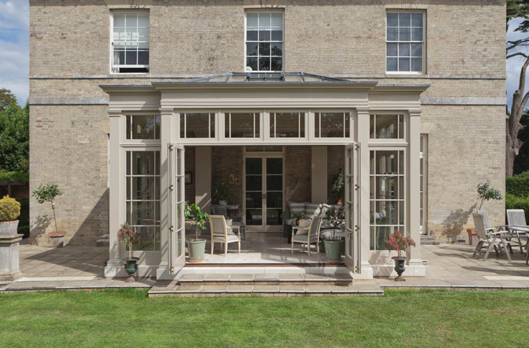 Norfolk Orangery Folding Doors