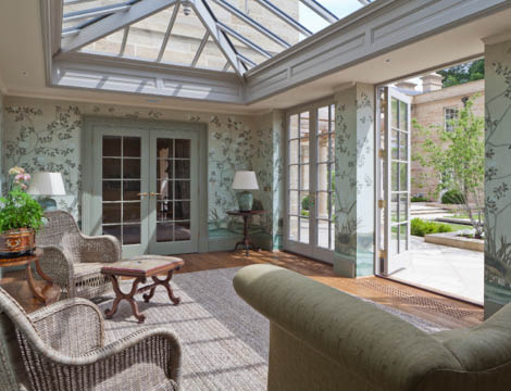 Georgian Orangery Living Room
