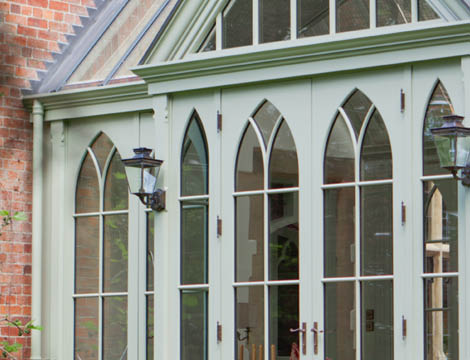 Gothic Victorian Conservatory