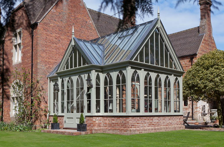 Lincolnshire Victorian Rectory Conservatory