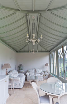 Decorative Solid Roof Conservatory