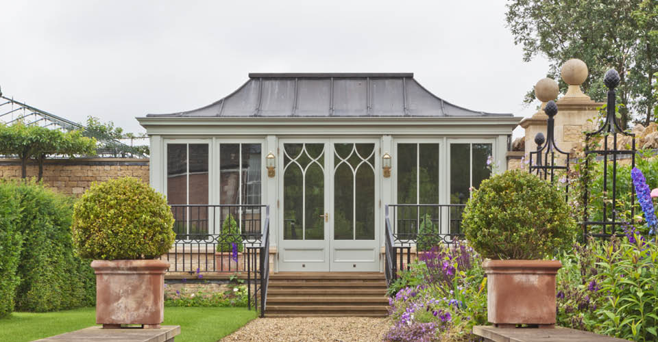 Lead Roof Freestanding Conservatory