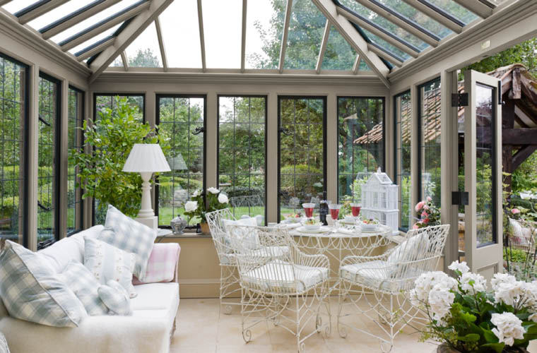 Conservatory Metal Windows