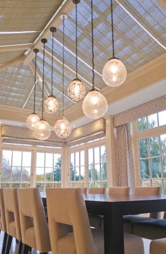 Contemporary Orangery Lighting