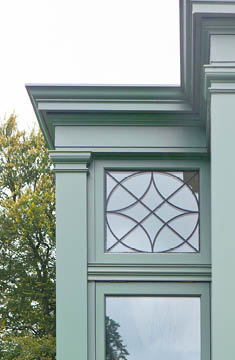 Applied Lead Conservatory Decoration