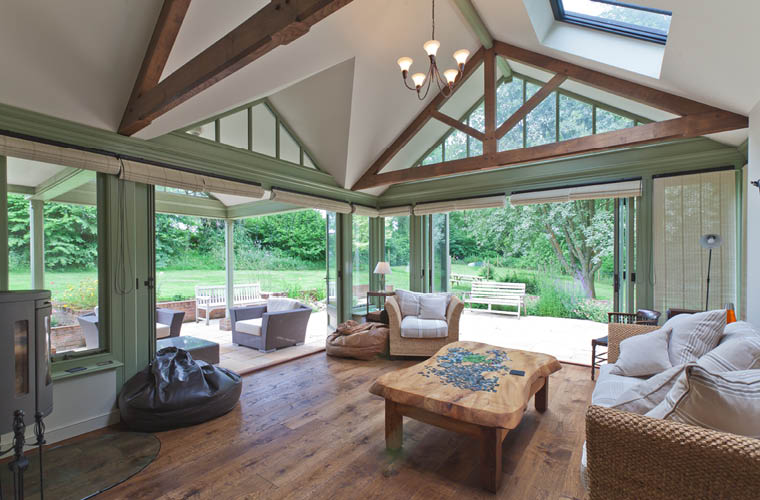 Solid Roof Conservatory Hampshire