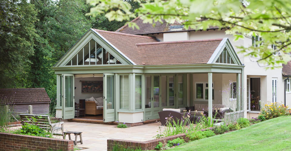 Tiled Roof Conservatory Hampshire