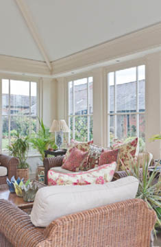 Solid Roof Sitting Room Orangery