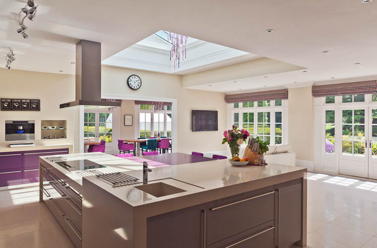 Contemporary Kitchen Orangery