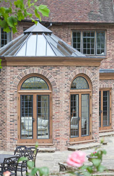 Arched Windows Brick Orangery