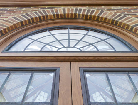 Leaded Metal Windows Orangery