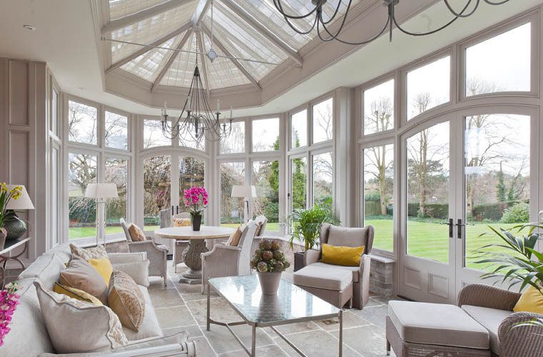 Traditional Interior Edwardian Conservatory