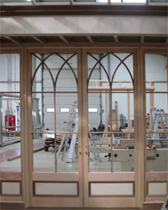 Orangery in the factory