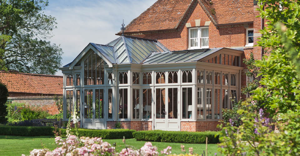 Victorian Conservatory In Norfolk.