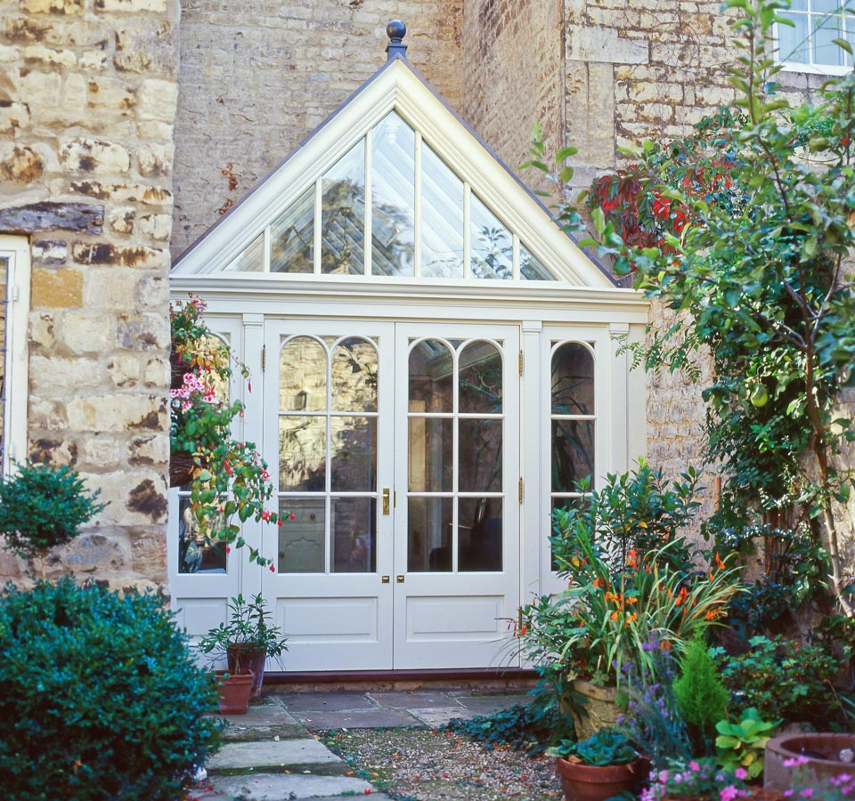 A Bespoke Conservatory replacing a previously unused part of the garden