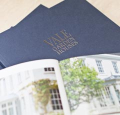 request a Vale Garden Houses brochure