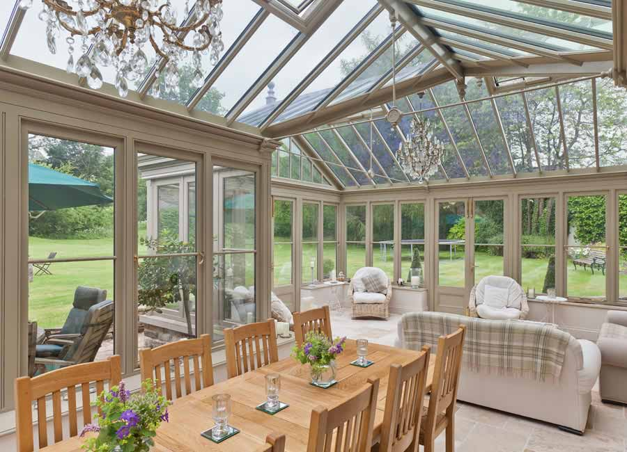 Example of a conservatory interior