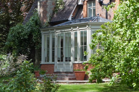 A small but perfectly formed conservatory for a Victorian vicarage in Hampshire