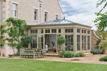 An orangery for a Wiltshire plant-lovers home