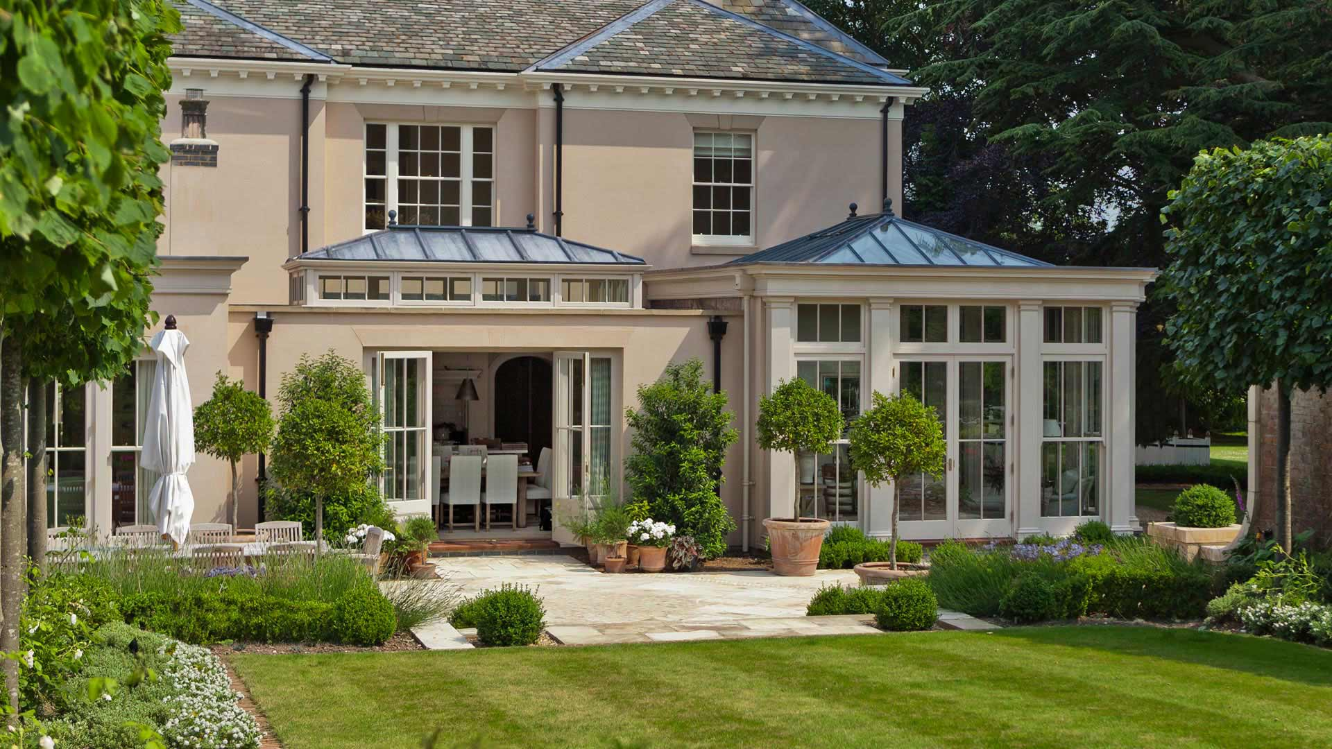 Beautiful Bespoke Georgian Orangery in Nottinghamshire