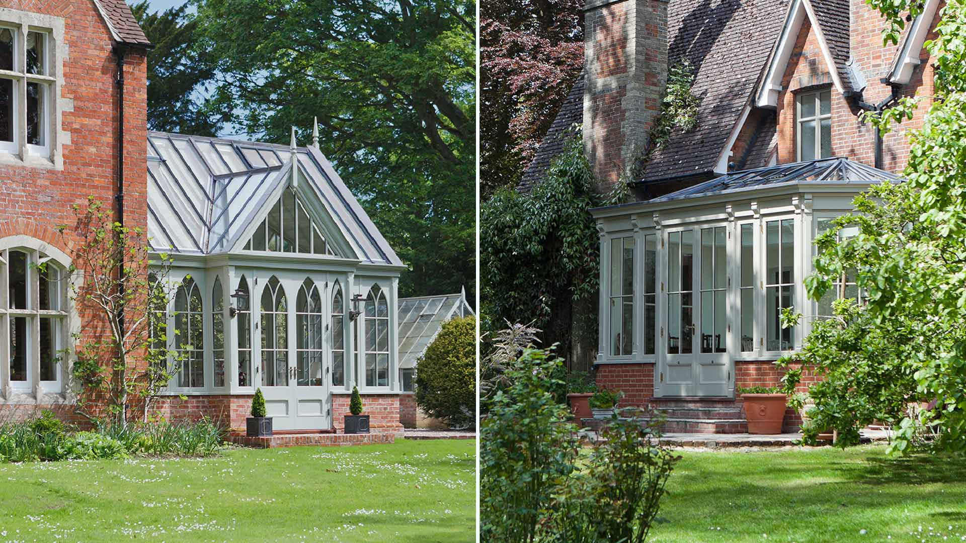 Inspirational smaller bespoke conservatory projects