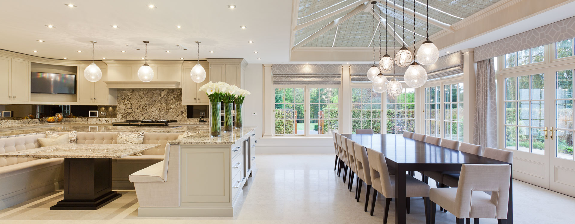 Kitchen conservatories and orangeries - Stylish cooking ...