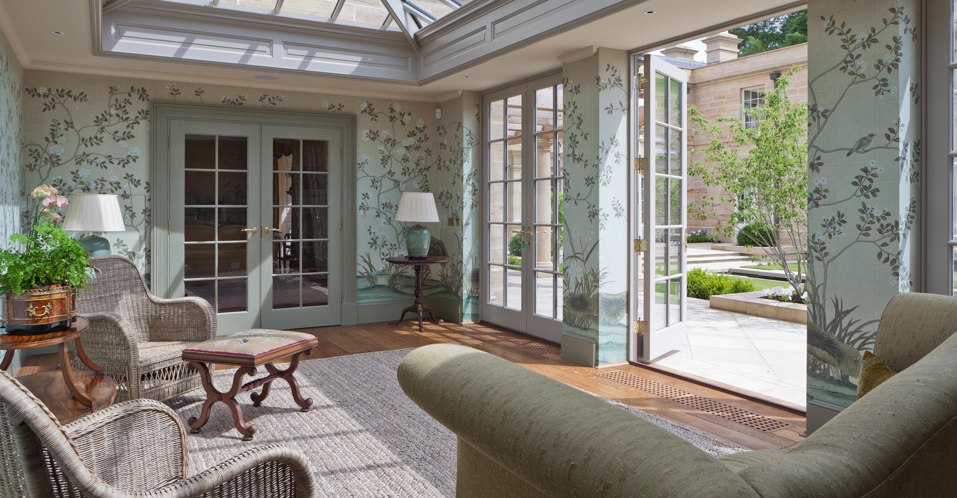 Orangeries bespoke orangeries by vale garden houses for Orangery interior design ideas