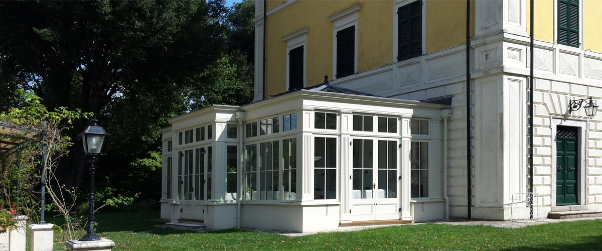Conservatory in Italy