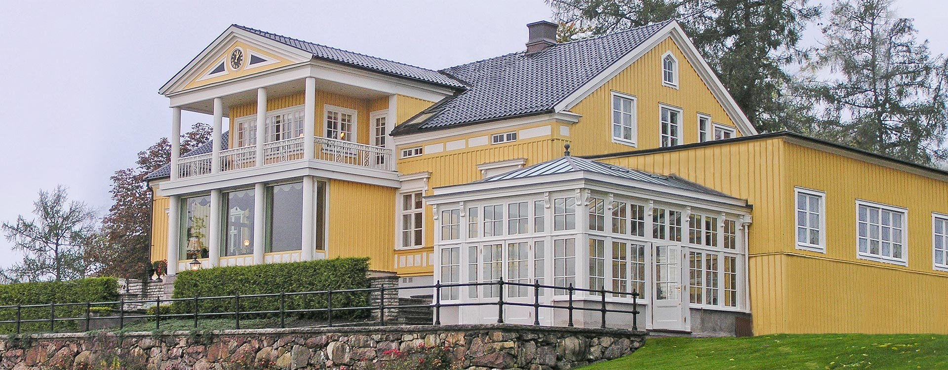 Conservatory in Sweden