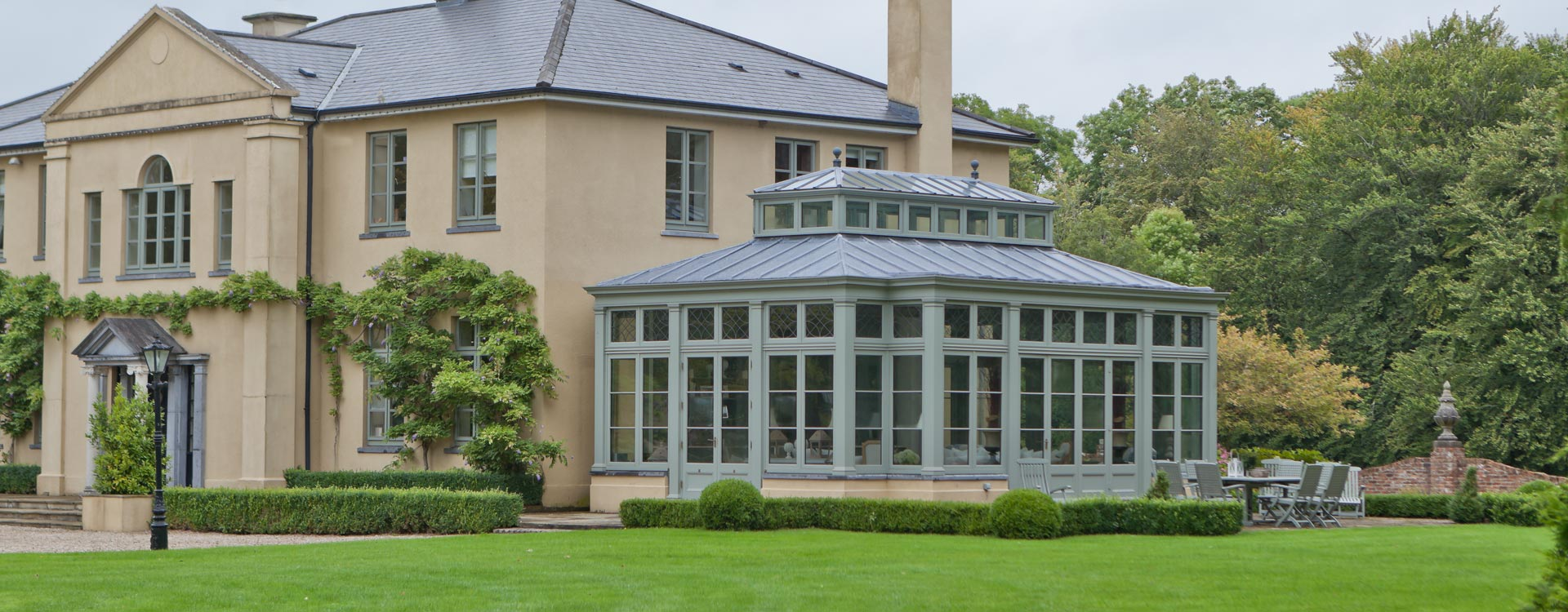 Conservatory in Ireland
