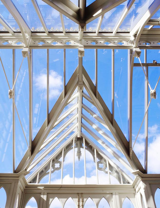 Glazed bespoke period conservatory roof