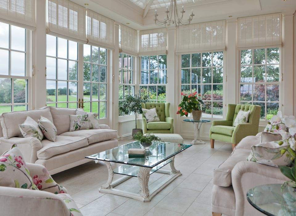 Conservatory Interior Furniture example