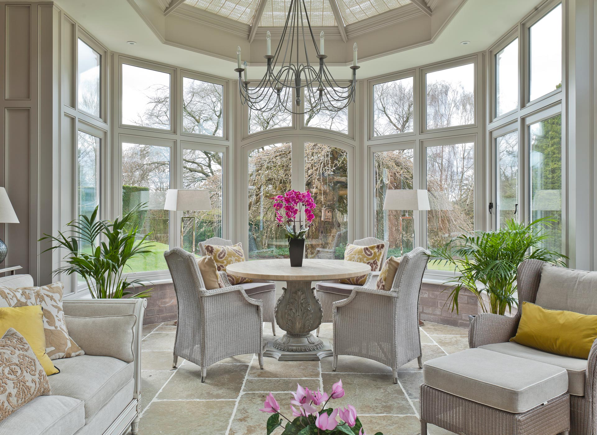 Conservatory furniture interiors by vale for Garden room decor