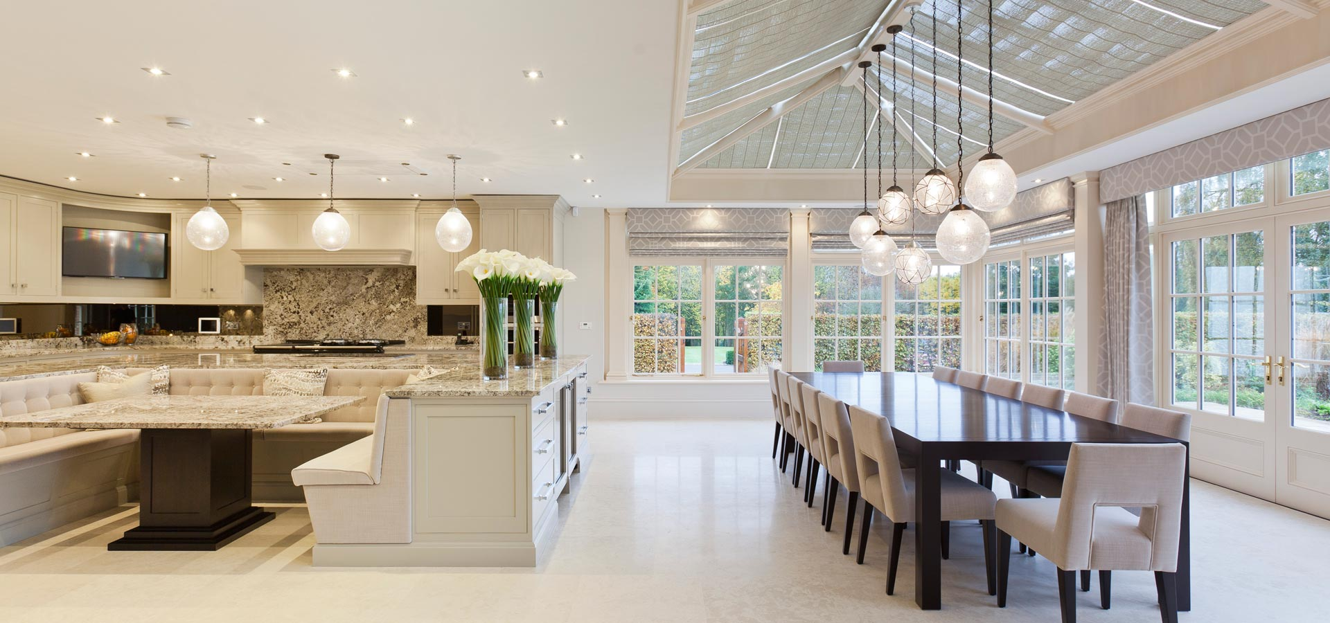Using your conservatory for Conservatory dining room design ideas