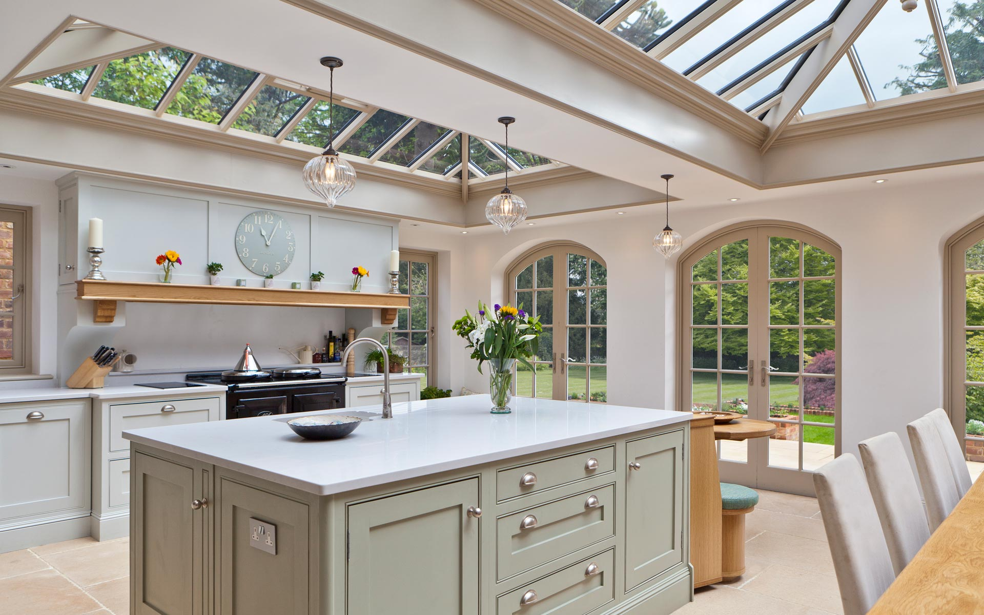 Using your conservatory for Kitchen ideas extension