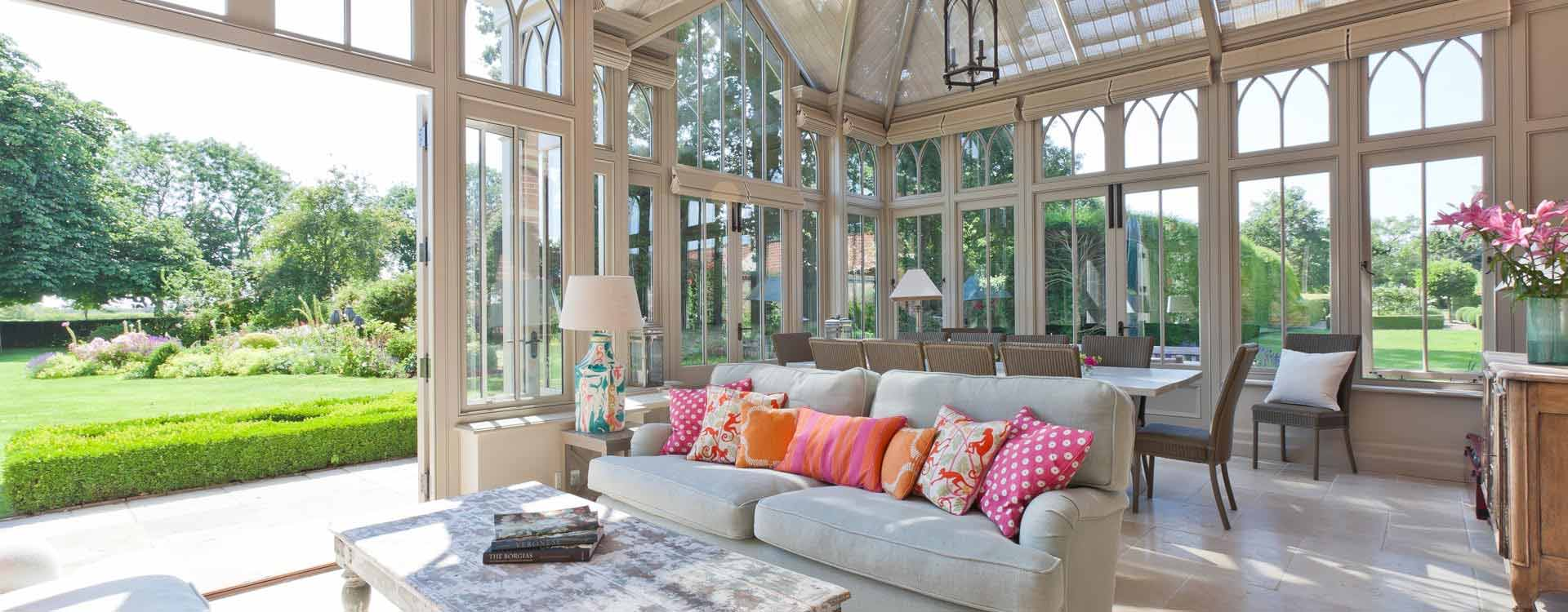 Bright, Calm and relaxing conservatory