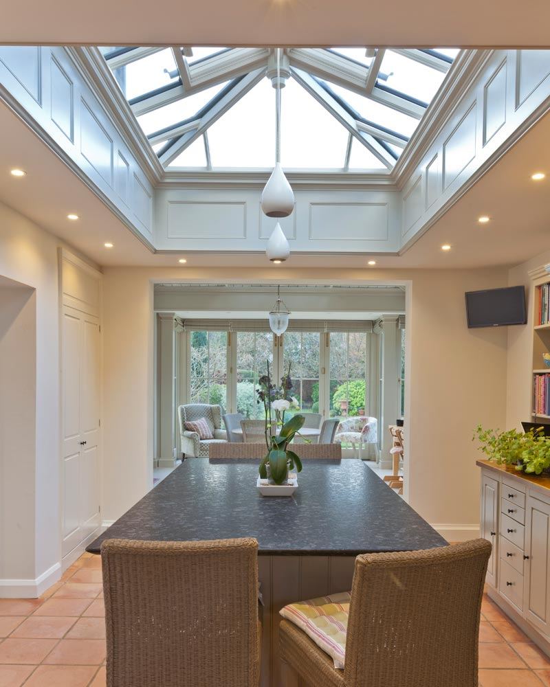 View Case Study · Attractive Roof Light With Internal Panelling